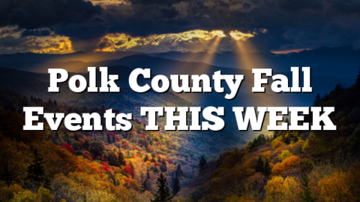 Polk County Fall Events THIS WEEK