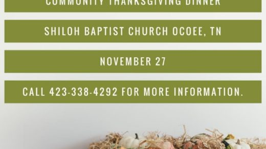 11/27 Community Thanksgiving Meal Ocoee TN