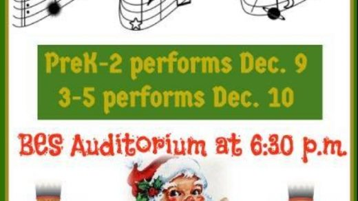 12/10 Benton Elementary School Children's Christmas Concert 3rd-5th Grade