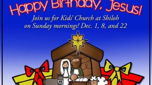 12/1,8,22 Shiloh Baptist Church Ocoee TN Happy Birthday Jesus