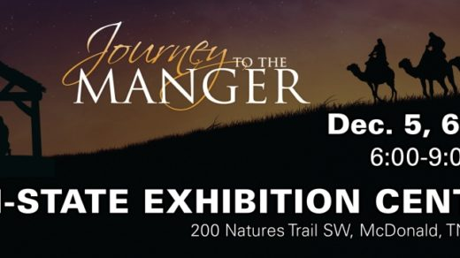 12/5,6,8 Journey to the Manger Live Nativity Tri-State Exhibition Center McDonald TN