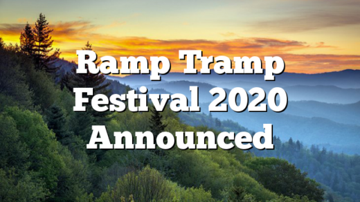 Ramp Tramp Festival 2020 Announced