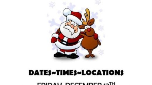 12/13 & 14 Santa Gives Toys at Ducktown Community Center and Benton Courthouse