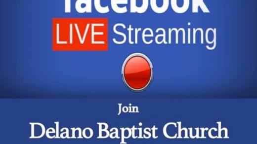 3/29 Delano Baptist Church Facebook LIVE