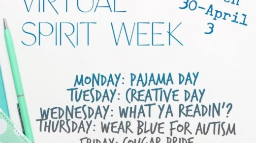 3/30-4/3 Virtual Spirit Week For Polk County