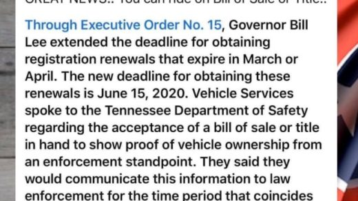 Ride on Bill of Sale or Title with Executive Order No. 15
