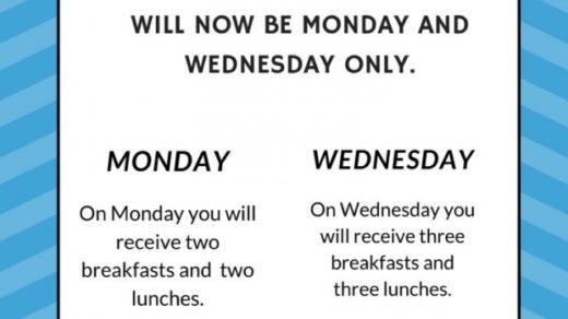 Polk County, TN Schools Meal Pick Up & Delivery Update