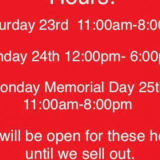 Hiwassee BBQ Hours For Memorial Day Weekend Reliance, TN