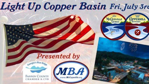7/3 Light Up Copper Basin Firecracker Express