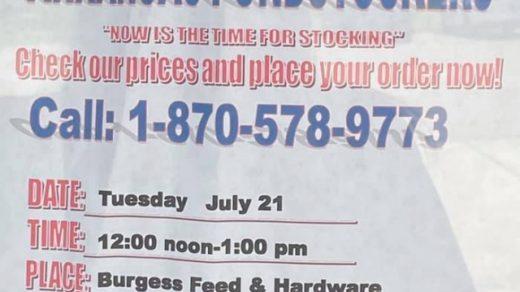 7/21 Burgess Feed & Hardware Fish Day Benton TN