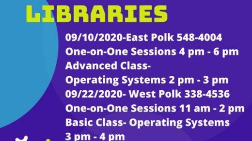 9/22 West Polk County TN Library FREE Computer Class