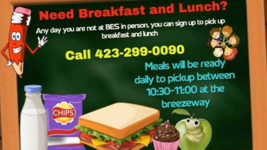 Breakfast & Lunch Meal Pickup for BES Students