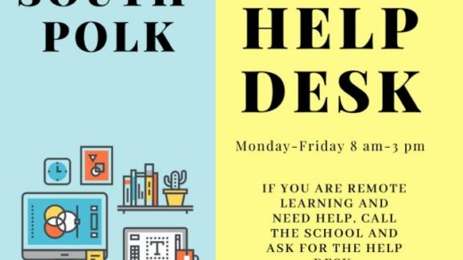 South Polk Elementary Help Desk Hours of Operation