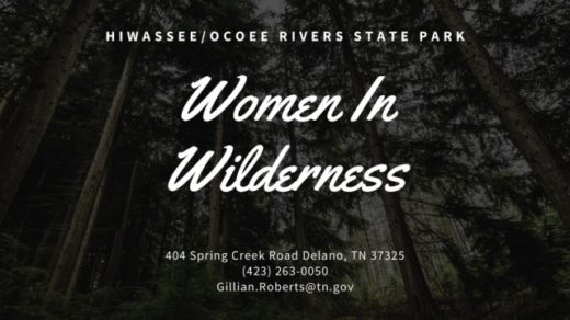 10/8 Women in Wilderness Series Part II Hosted by Hiwassee/Ocoee State Park