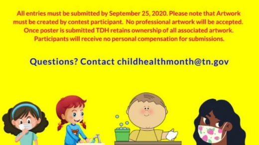 9/25 Child Health Month Poster and PSA Contest 2020 Deadline
