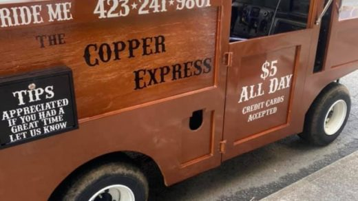 Ride The Copper Express in Copperhill, TN