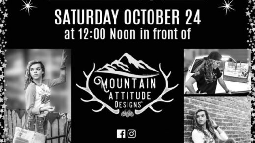 10/24 Fashion Show Hosted by Mountain Attitude Designs Copperhill, TN