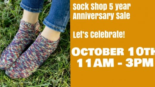 10/31 Sock Shop 5 Year Anniversary Sale Athens, TN
