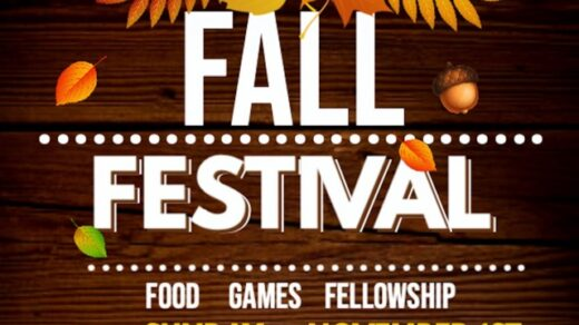 11/1 Boanerges Baptist Fall Festival Church Old Fort, TN
