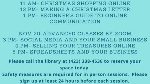 11/12 West Polk Public Library FREE Computer Class ONE-ON-ONE Sessions