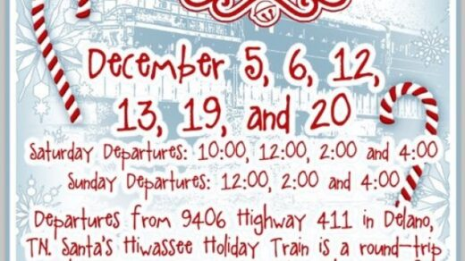 12/19-20 Hiwassee Holiday Train Delano, TN