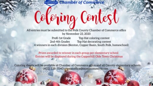 11/23 Polk County Chamber of Commerce Coloring Contest Deadline