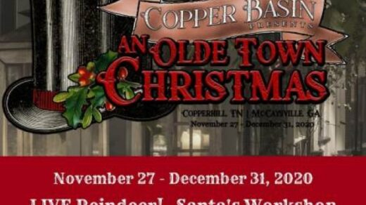 11/27 Copper Basin Olde Town Christmas Begins