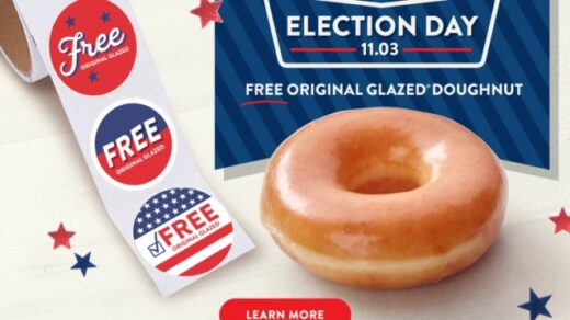 11/3 ELECTION Day FREEBIES