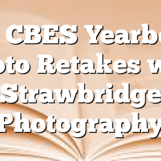 2/1 CBES Yearbook Photo Retakes with Strawbridge Photography