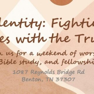3/7 First Baptist Church Benton Girl's Retreat Registration Deadline