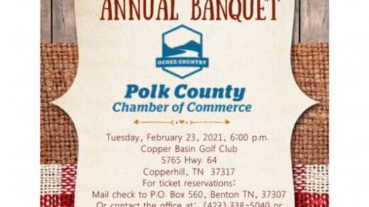 Polk County Chamber of Commerce Annual Members Banquet Registration is Open