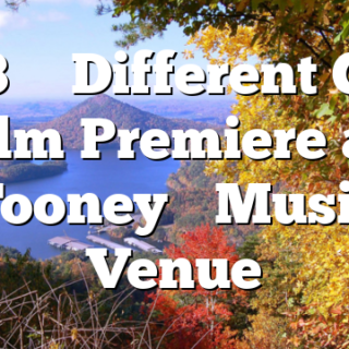 3/13 'A Different Guy' film Premiere at Tooney's Music Venue