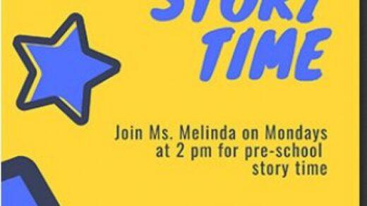 4/12 Story Time East Polk Public Libary