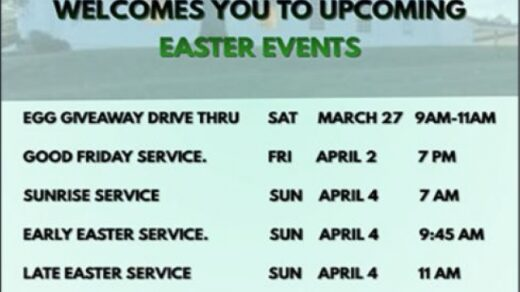 4/4 Easter Services Benton United Methodist Church