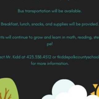 South Polk Elementary Summer School Dates Set
