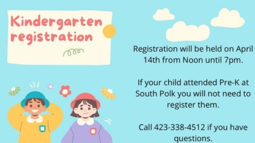 4/14 South Polk & Benton Elementary Kindergarten Registration